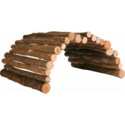 Pont, flexible pour rongeurs  en bois d'écorce - 28 × 17 cm