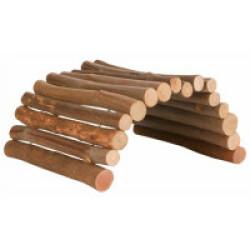 Pont flexible pour rongeurs en bois d'écorce - 51 × 30 cm