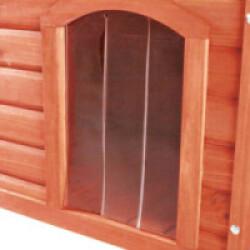 Porte en plastique pour niche Natura Trixie #39533 Longueur 38 cm Largeur 55 cm