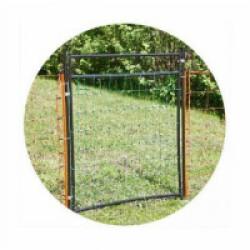 Porte pour filet électrifié AKO jusqu'à 108 cm