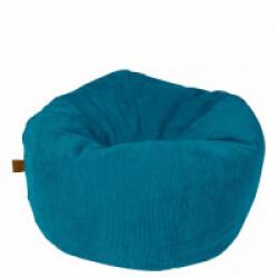 Pouf confortable Chill Zack pour chien et chat - Coloris Bleu