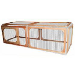 Enclos pour Poulailler Budy en bois - 200 x 70 x 68 cm
