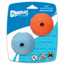 Balles Whistler Caoutchouc Lot de 2 pour propulseur de balle Chuckit Original