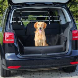 Protège coffre de voiture Friends on tour noir pour chiens