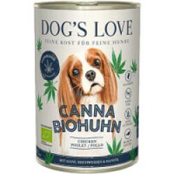 Pâtée Canna Canis BIO avec chanvre - Saveur Poulet (400g)