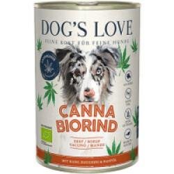 Pâtée Canna Canis BIO avec chanvre - Saveur Boeuf (400g)