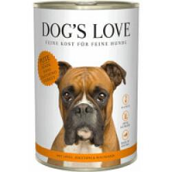 Pâtée Dog's Love à la Dinde pour chien (200g)