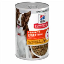 Pâtée Hill's Science Plan Perfect Digestion pour chien adulte - 12 boites 363g