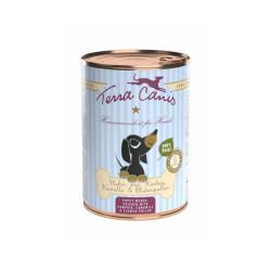 Pâtée naturelle au poulet pour chiot Terra Canis Puppy Boîte de 400 g