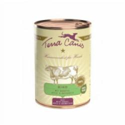 Pâtée naturelle Classic Boeuf Terra Canis pour chien - Boîte 400 g