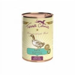 Pâtée naturelle Classic Canard Terra Canis pour chien - Boîte 400 g