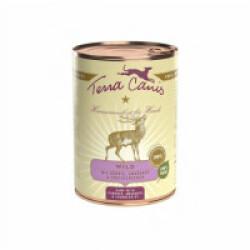Pâtée naturelle Classic Terra Canis pour chien Saveur Gibier -Boîte 400 g