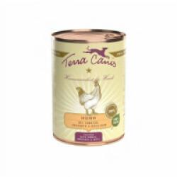 Pâtée naturelle Classic Terra Canis pour chien Saveur Poulet - Boîte 400 g