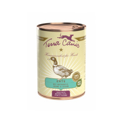 Pâtée naturelle pour chien Classic Canard Terra Canis Boîte 400 g