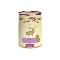 Pâtée naturelle pour chien Classic Gibier Terra Canis