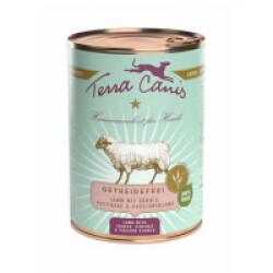Pâtée naturelle sans céréales pour chien à l'agneau Terra Canis Boîte 400 g