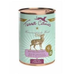 Pâtée naturelle sans céréales pour chien gibier Terra Canis Boîte 400 g