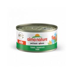 Pâtée pour chat Almo Nature HFC Jelly - Lot de 6 x 70 g Thon avec calamars