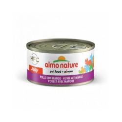 Pâtée pour chat Almo Nature HFC Jelly - Lot de 6 x 70 g Poulet et Mangue
