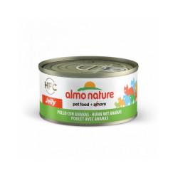 Pâtée pour chat Almo Nature HFC Jelly - Lot de 6 x 70 g Poulet et Ananas