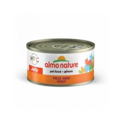 Pâtée pour chat Almo Nature HFC Jelly - Lot de 6 x 70 g Poulet Impérial