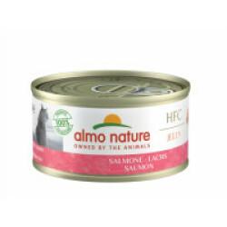 Pâtée pour chat Almo Nature HFC Jelly - Lot de 6 x 70 g Saumon