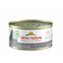 Pâtée pour chat Almo Nature HFC Natural - Lot de 6 x 70 g Thon avec blanchailles