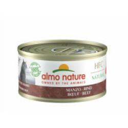 Pâtée pour chat Almo Nature HFC Natural 6 Boites 70 g Boeuf