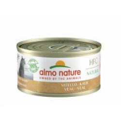 Pâtée pour chat Almo Nature HFC Natural 6 Boites 70 g Veau