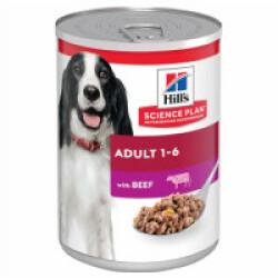 Pâtée pour chien Hill's Science Plan Canine Adulte - Lot de 12 boîtes x 370 g Boeuf