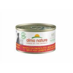 Pâtée pour chien Almo Nature HFC Natural - Lot de 6 boîtes x 95 g Boeuf et jambon