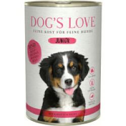 Pâtée pour chiot et junior Dog's Love - Saveur Boeuf (200g)