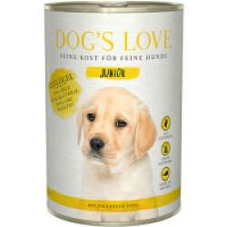 Pâtée pour chiot et junior Dog's Love - Saveur Volaille (200g)