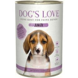 Pâtée pour chiot et junior Dog's Love - Saveur Agneau (200g)