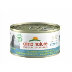 Pâtée sans céréales pour chat au maquereau et patate douce Almo Nature HFC Complete Boîte 70 g - lot de 6