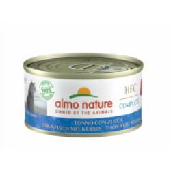 Pâtée sans céréales pour chat au thon et potiron Almo Nature HFC Complete Boîte 70 g