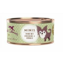Pâtée sans céréales pour petit chien au boeuf Terra Canis Mini Boîte 100 g