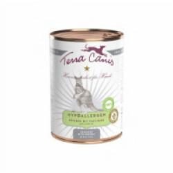 Pâtée sans céréales Terra Canis Hypoallergénique pour chien au kangourou - Boîte de 400 g