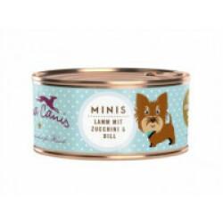 Pâtée sans céréales Terra Canis Mini pour petit chien à l'agneau - Boîte 100 g