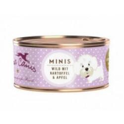 Pâtée sans céréales Terra Canis Mini pour petit chien au gibier - Boîte 100 g