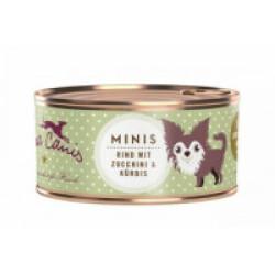 Pâtée sans céréales Terra Canis Mini pour petit chien au boeuf - Boîte 100 g