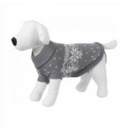 Pullover pour chien Lillehammer Gris Blanc Kerbl Longueur 25 cm