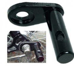 Platine de fixation permet d'équiper un 2e vélo pour remorque Doggy-Bike ™ Liner
