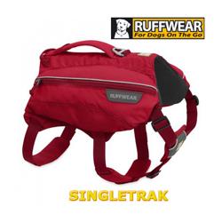 Sac à dos sport Singletrak pour chien T1 Small Rouge
