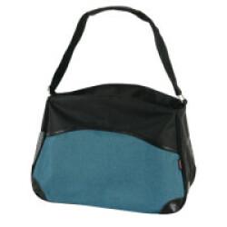 Sac Bowling Zolux de transport pour chats et petits chiens - Bleu Taille S