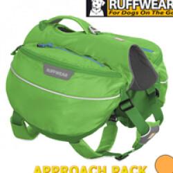 Sac de bât Approach Pack Ruffwear pour chien T3 vert