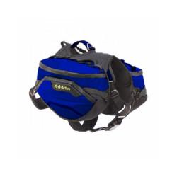 Sac de bât Pro Kn'1® Active Trail pour chien T1 bleu