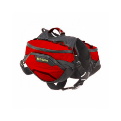 Sac de bât Pro Kn'1® Active Trail pour chien T1 rouge