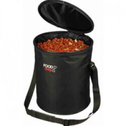 Sac de conservation Foodbag en nylon noir Trixie