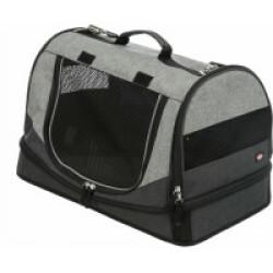 Sac de transport convertible en lit pour chien et chat Holly Trixie - 30 × 30 × 50 cm